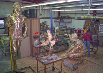 The Maiden Foundry - Casting Bronze Sculptures, Art, Statues, Monuments