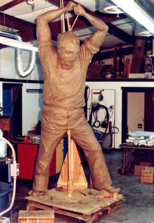 Bronze Sculpture Casting at Maiden Foundry